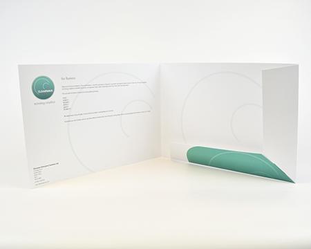 A4 Budget Folder Interlocking self assembly landscape