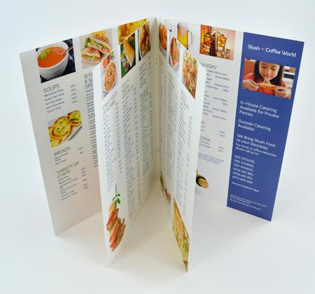 Booklet Menu 2